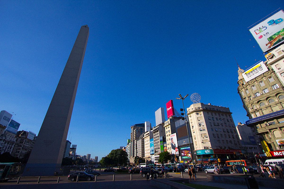 Buenos Aires Sightseeing Argentinia Argentinien South America