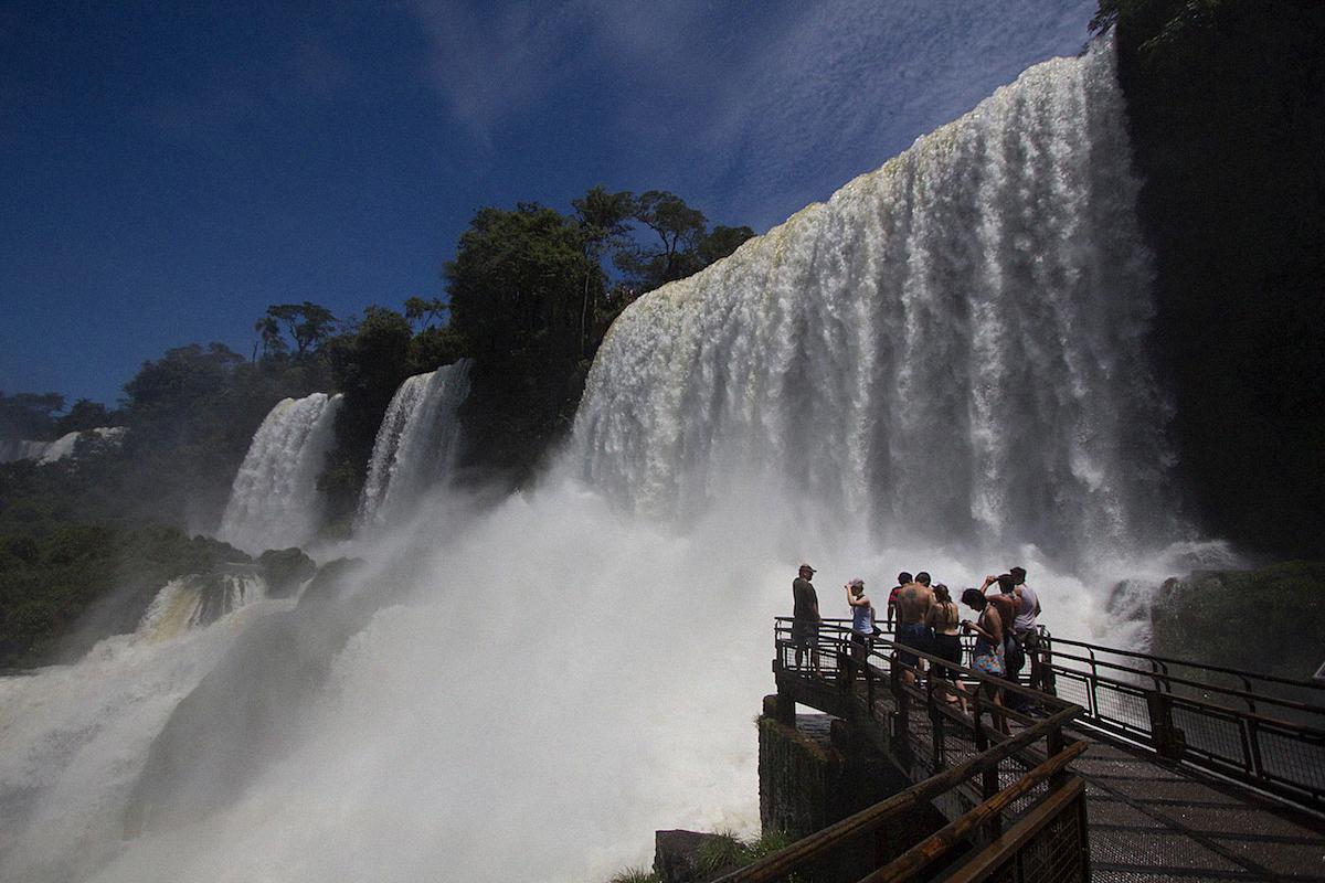 Iguazu Cataratas de Iguazu waterfalls Buenos Aires Sightseeing Argentinia Argentinien South America21