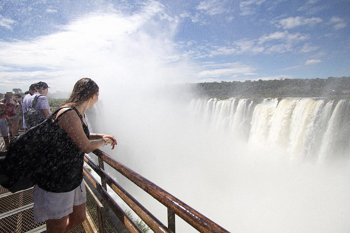 Iguazu Cataratas de Iguazu waterfalls Buenos Aires Sightseeing Argentinia Argentinien South America24