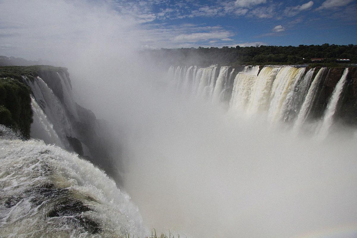 Iguazu Cataratas de Iguazu waterfalls Buenos Aires Sightseeing Argentinia Argentinien South America25