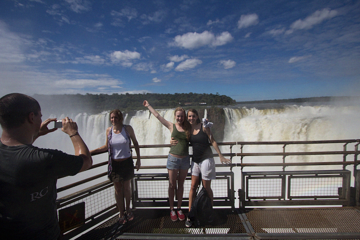 Iguazu Cataratas de Iguazu waterfalls Buenos Aires Sightseeing Argentinia Argentinien South America26
