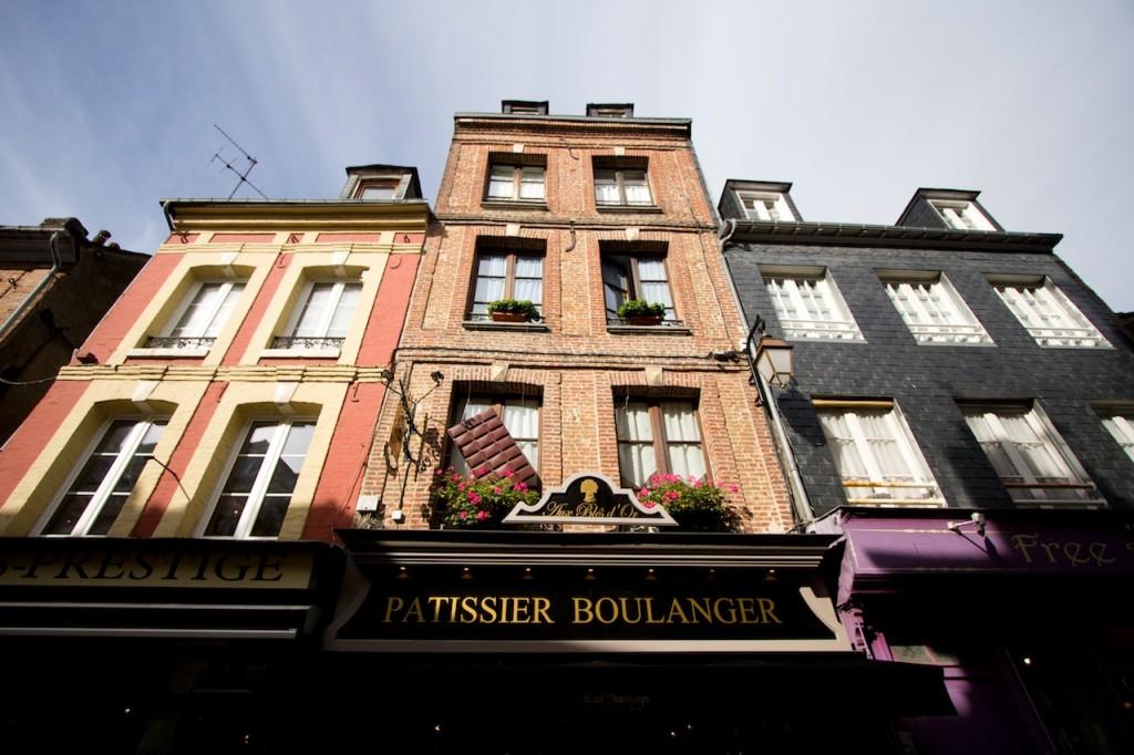 Bateaux, sucreries et antiquités à Honfleur