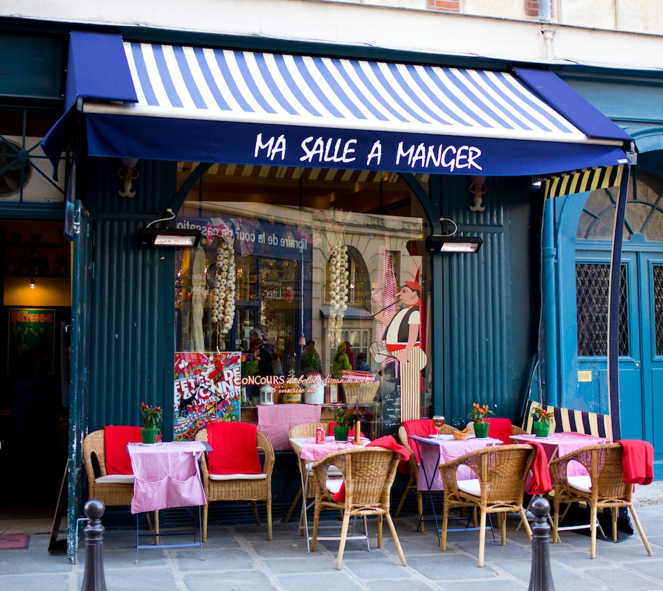 Restaurants in paris ma salle manger for Restaurant salle a manger