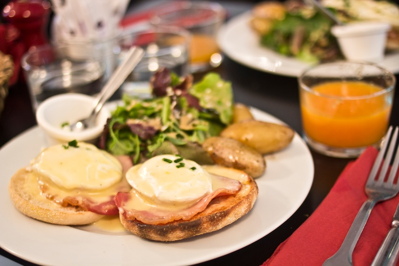 Eggs & Co Paris, Paris Eating Guide, Brunch in Paris, Poached Eggs Paris