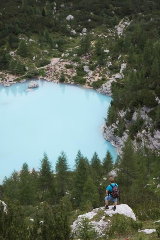 Wandern in Südtirol lago del sorapris laghetto del sorapis südtirol pustertal sorapis see sorapis lake