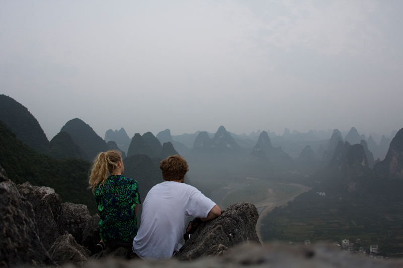 #thegoldenbunontour // Day 15 Xingping | sunrise on Louzai hill /bamboo boat tour / sunset