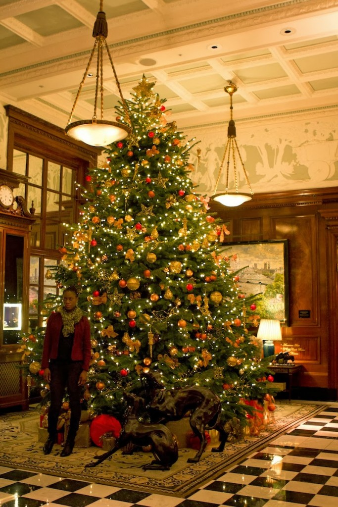 Christmas feeling at The Savoy hotel