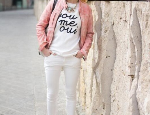 Converse rosé gold, chucks rosé gold, me you oui, Gaastra leather jacket, how to wear white jeans casually, The Golden Bun   München Modeblog, German Fashion Blog, Fashionblogger, new trends