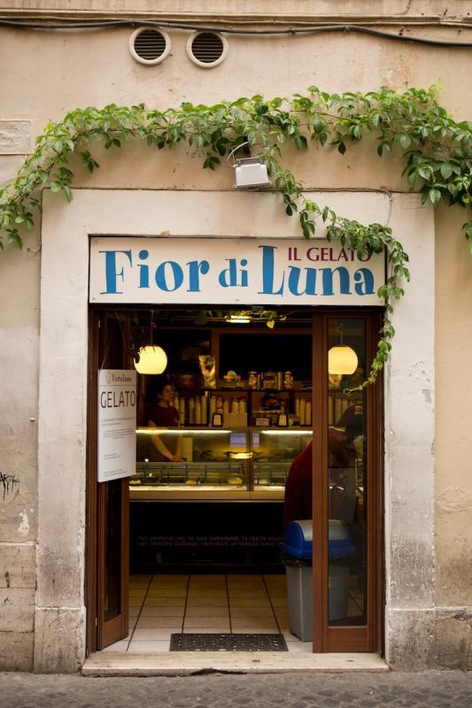 Fior di Luna, gelato a Roma / Ice Cream in Rome