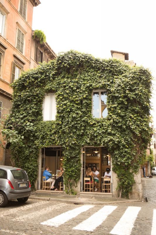 La Casetta, cute café in the Monti area in Rome