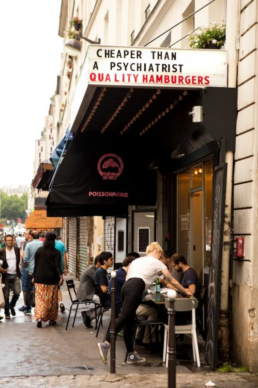 Restaurants in Paris | Burgertime at PNY