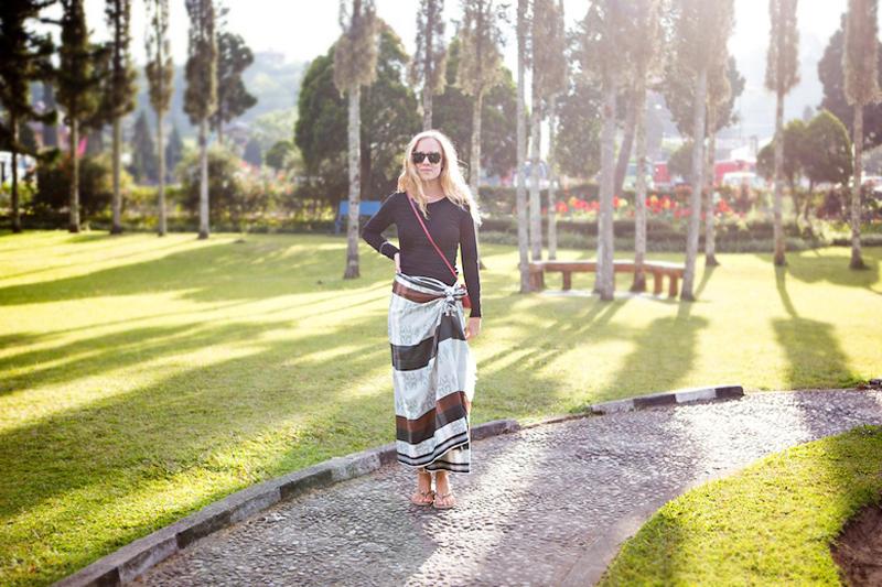 Thegoldenbunontour Bali Diary 13 How To Wear A Sarong