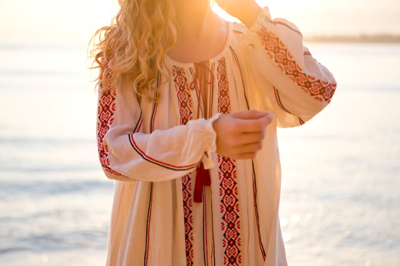 Bali Diary 7 | Tunika dress and morning light