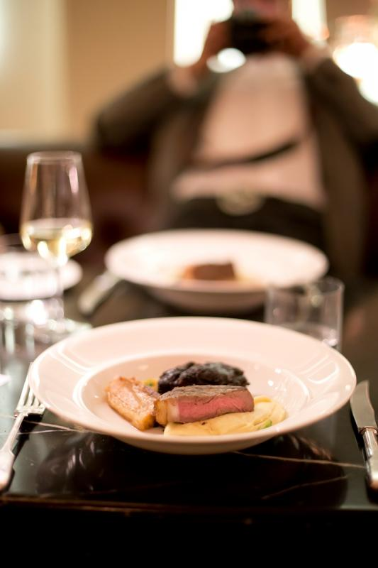 Dinner at Hotel Café Royal | Restaurants in London - gourmet cuisine london - gourmet dinner london