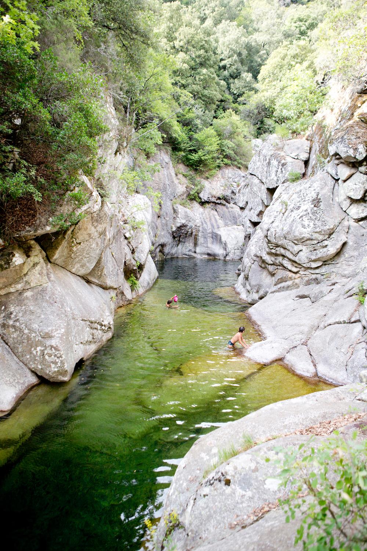 hinterlands Corsica, heartland Corsica, La Rivière