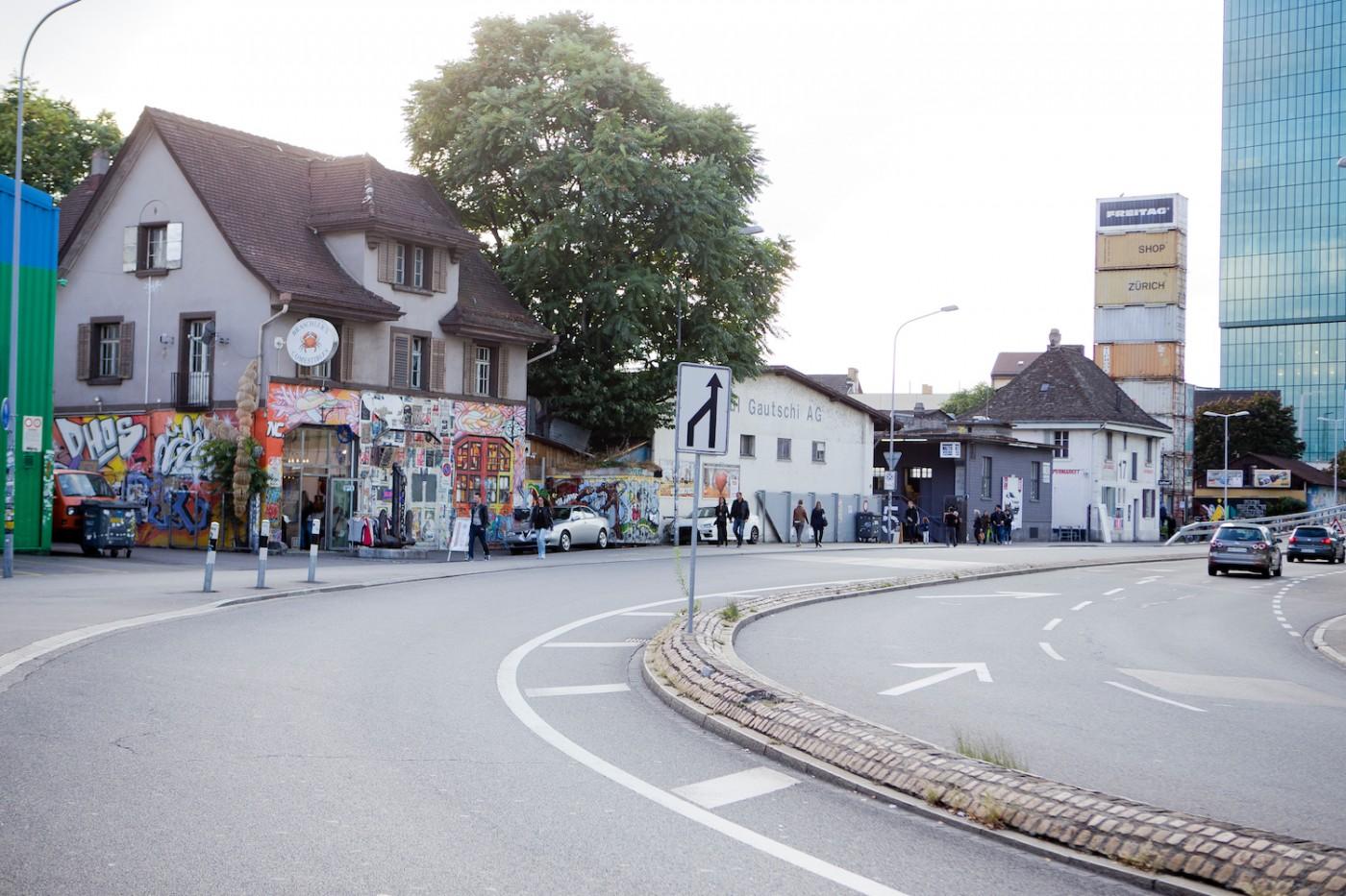 Zürich, Frau Gerold, Viadukt Zürich, Shoppen Zürich, Toni Areal