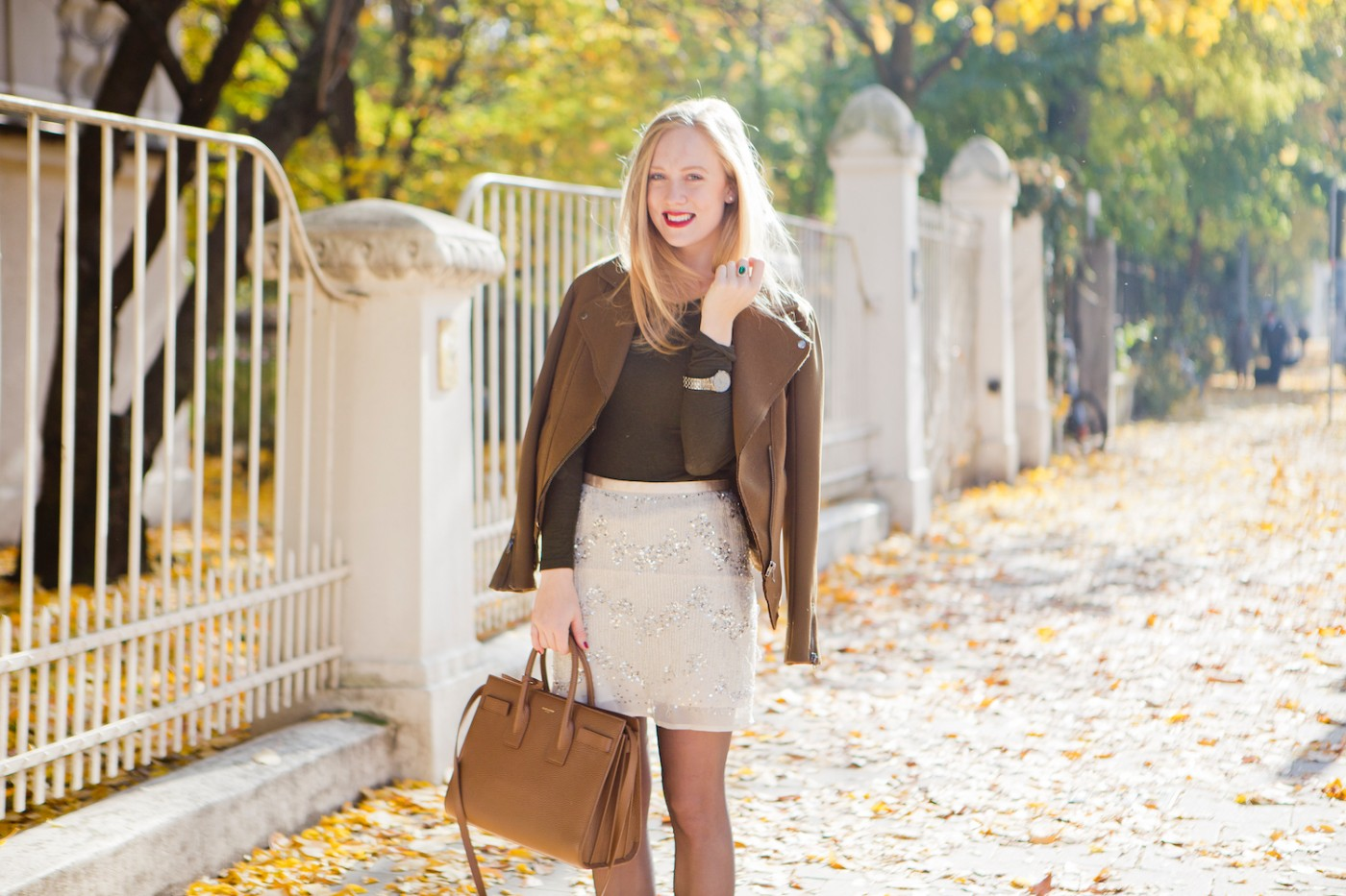 Autumn look, DNKY Be Desired, Perfume, DNKY scent, perfecto jacket