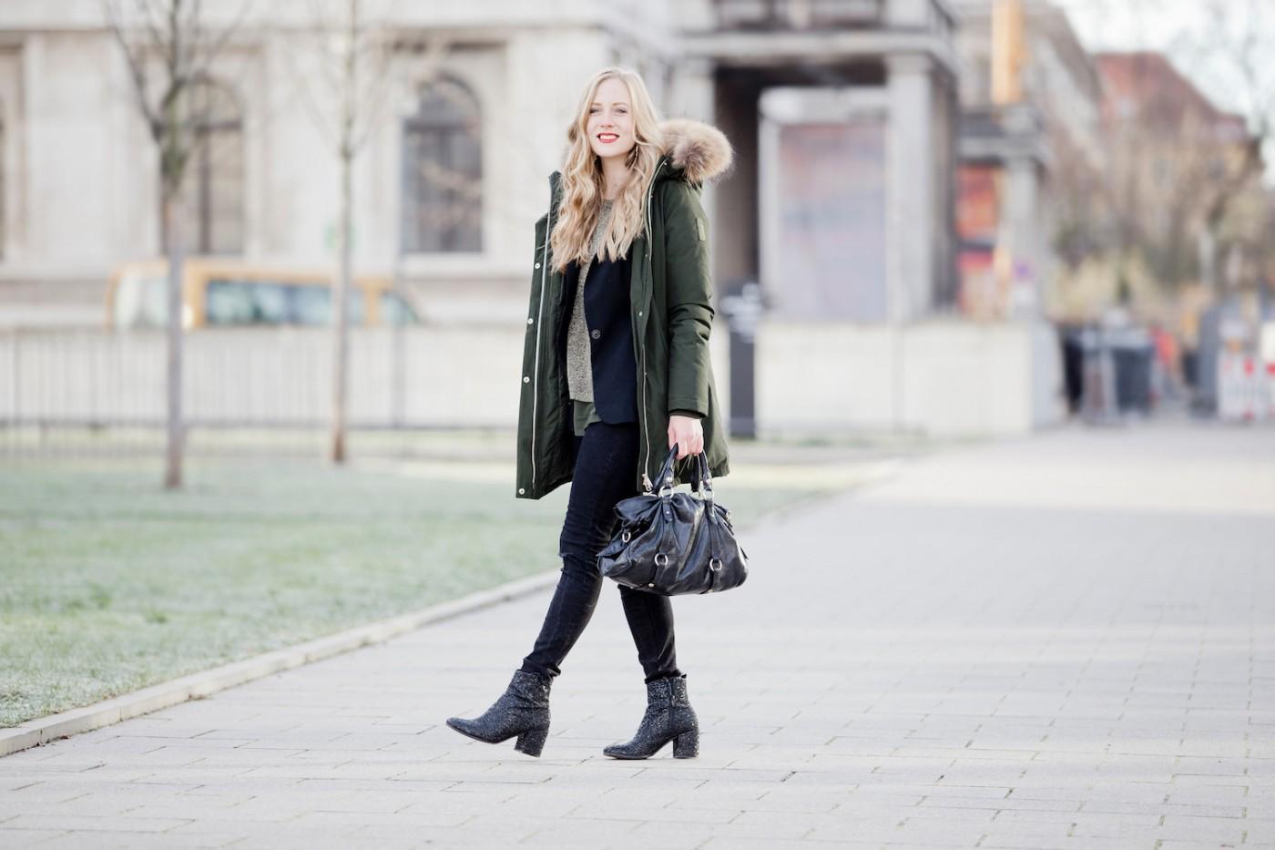 green glitter top bomboogie jacket kennel schmenger glitzer boots