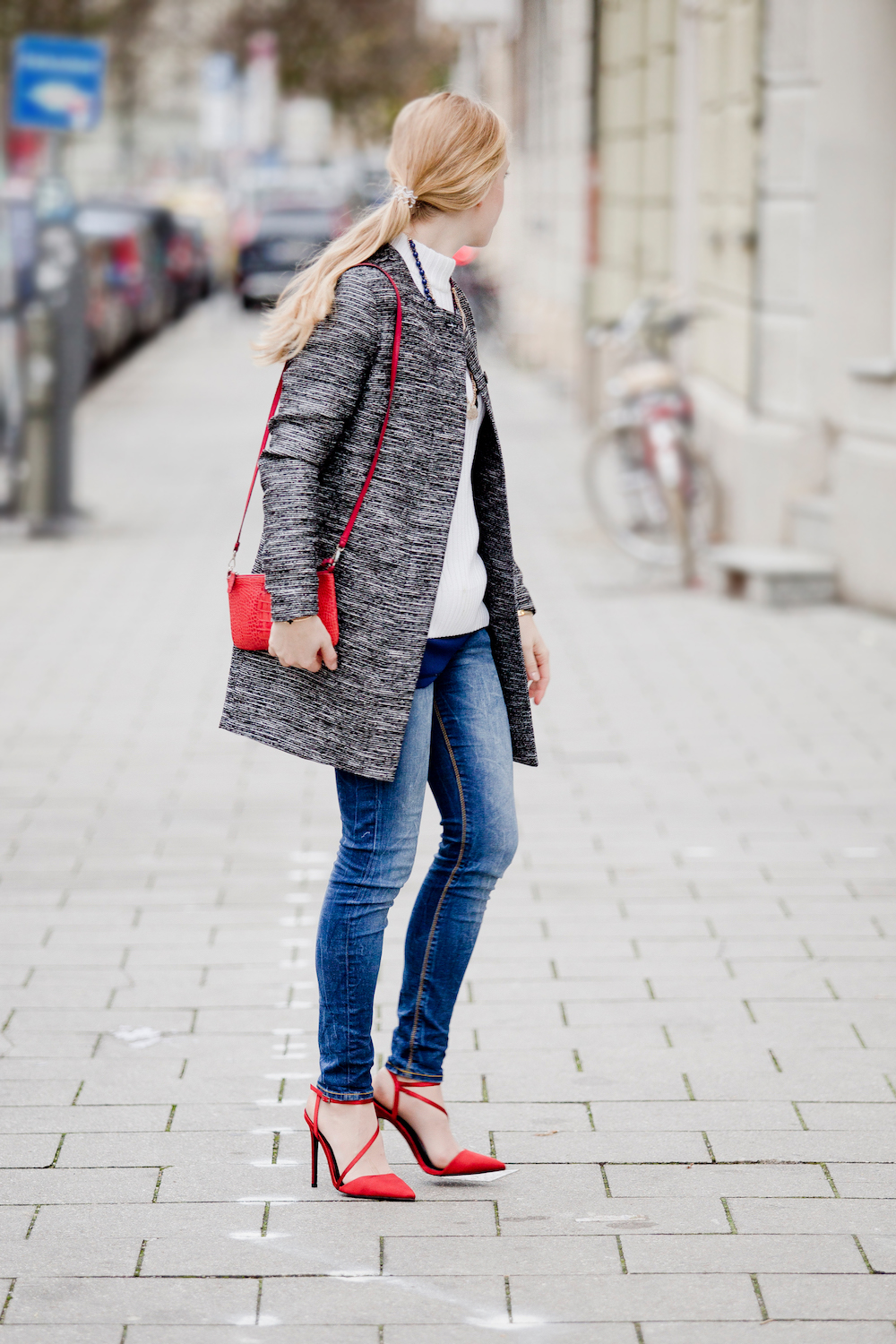 More & More Coat Red pumps | München Modeblog, German Fashion Blog, Fashionblogger, new trends
