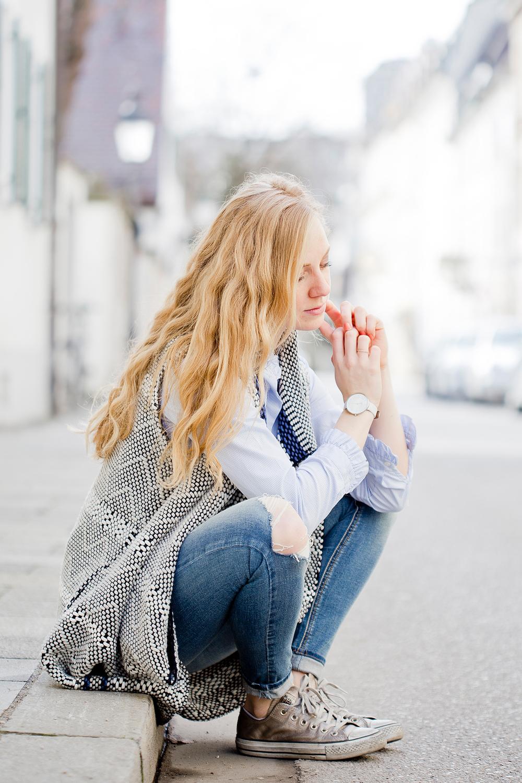 Sleveless knit cardigan Marc O'Polo, The Golden Bun | München Modeblog, German Fashion Blog, Fashionblogger, new trends