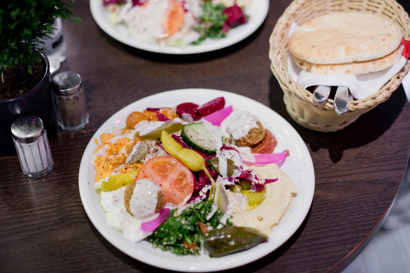 sababa München, Falafel in München, Hummus in München,