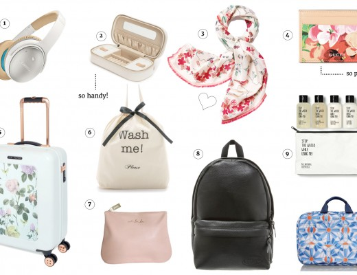 Thursday Picks | pretty travel accessories The Golden Bun | München Modeblog, German Fashion Blog, Fashionblogger, new trends