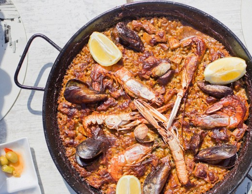Barcelona Food Guide, Arenal Restaurant barcelona food, best paella in Barcelona, eating in Barcelona, restaurant guide for Barcelona,