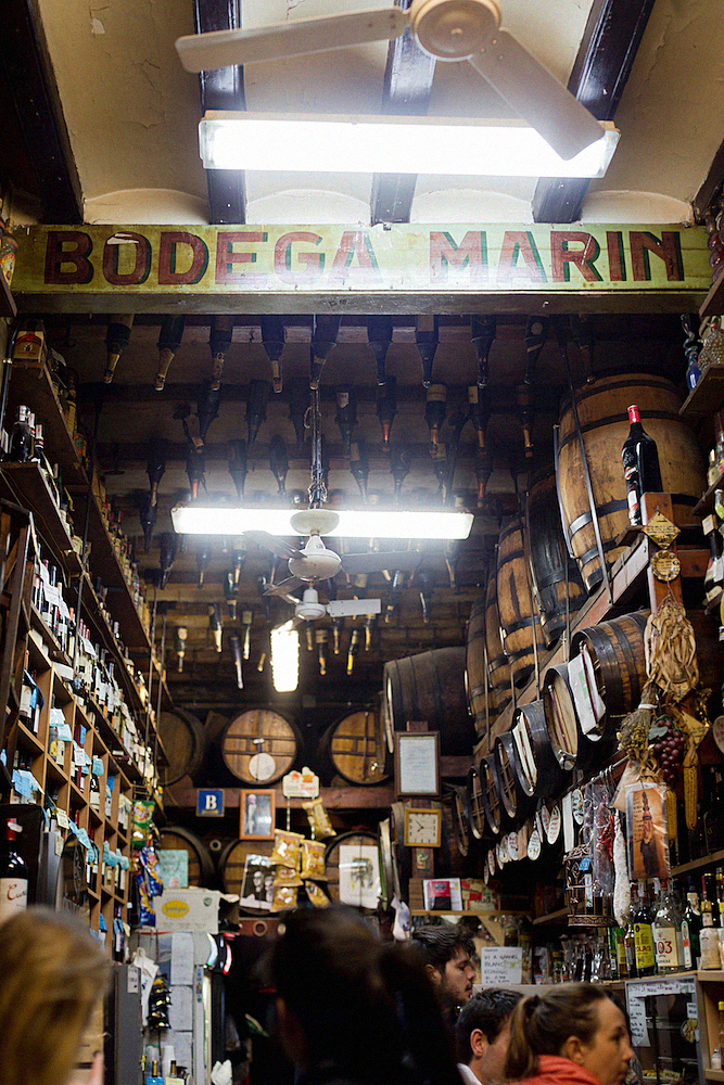 Bodega Marin, Tapas in barcelona food, eating in Barcelona, restaurant guide for Barcelona,