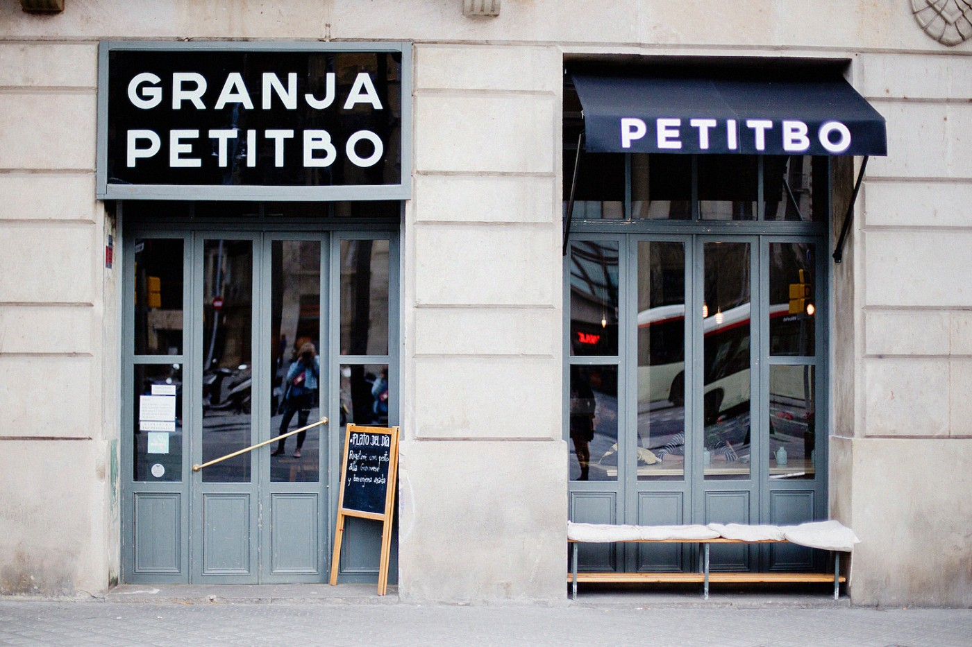 Granja Petitbo, barcelona food, eating in Barcelona, restaurant guide for Barcelona,