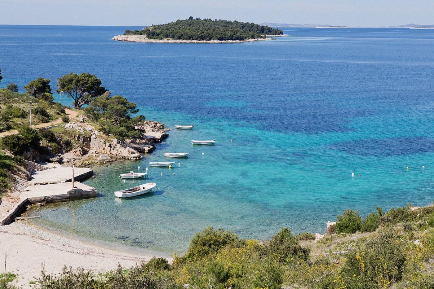 The Golden Bun_beautiful beach in South Croatia, Süden Kroatiens, traumhafte Strände