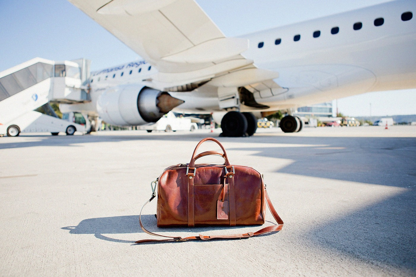 travel essentials Maxwell Scott Flero S bag