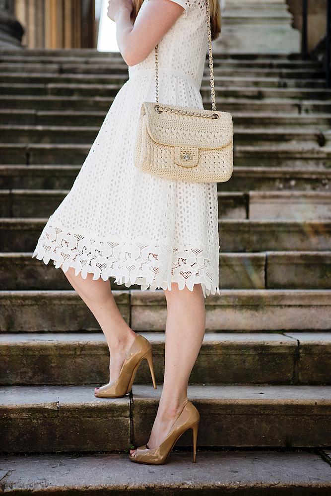 the super high heels and a lace dress the golden bun. Black Bedroom Furniture Sets. Home Design Ideas