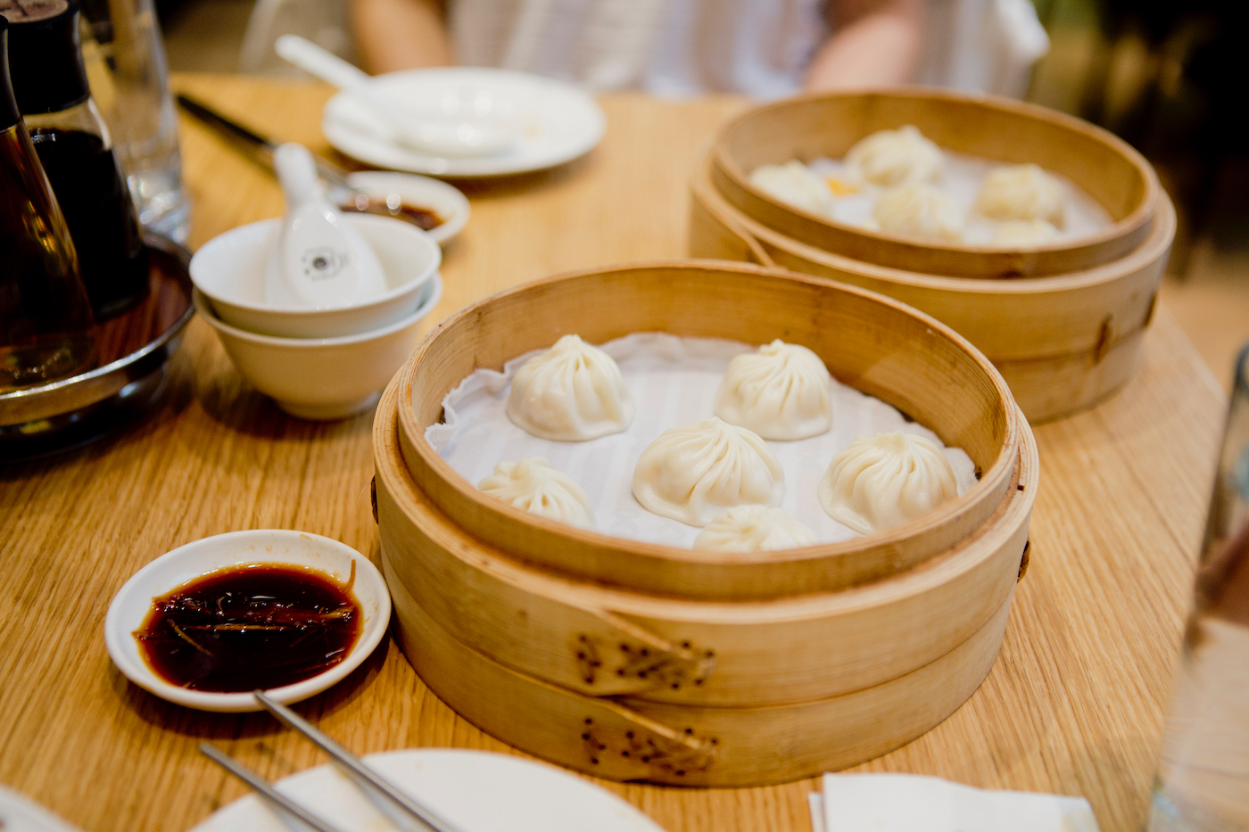 Xiao Long Bao & Spicy Dumplings at Din Tai Fung Dubai