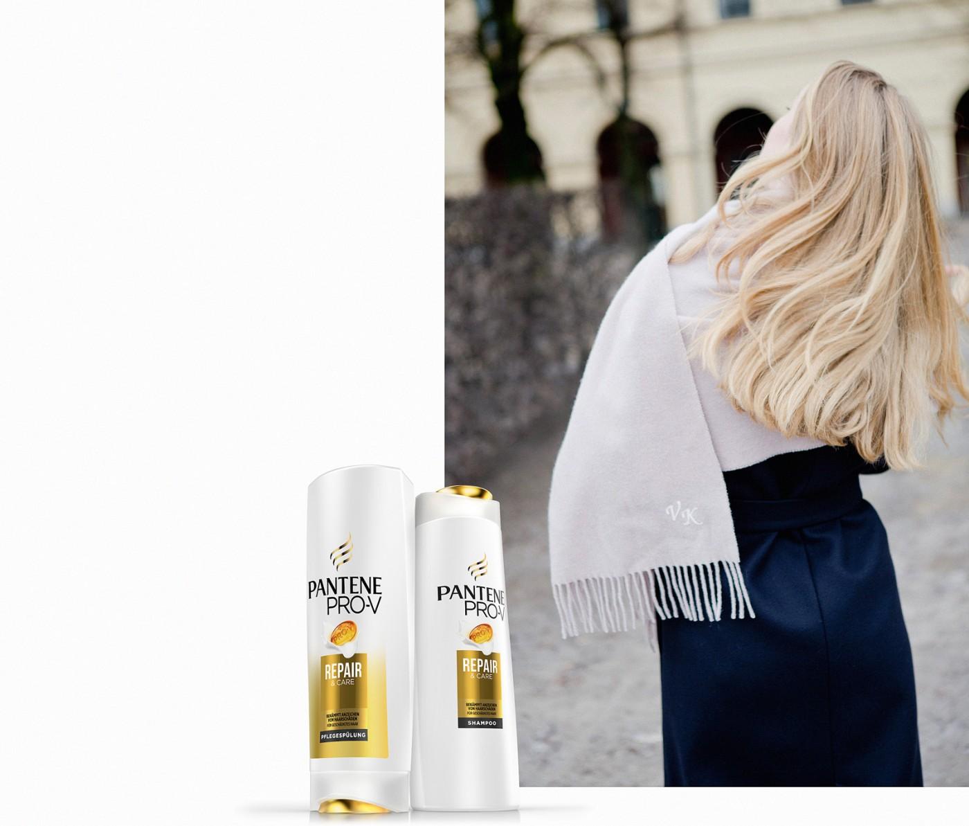 Pantene Pflegespülung SMART Pro-V Formel, Pantene SMART Pro-V Palina Rojinski, Haare, richtige Pflege für Haare