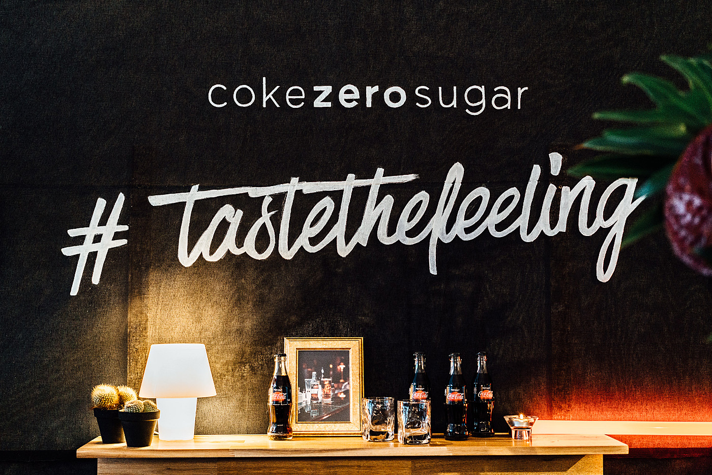 coke zero sugar taste the feeling event #tastethefeeling in berlin The Golden Bun