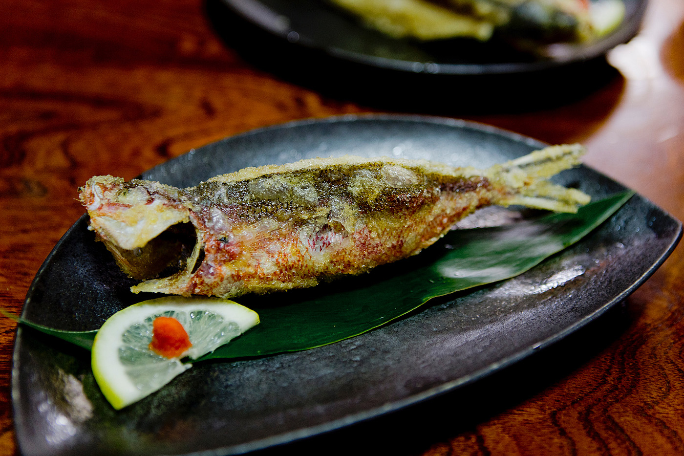 The golden bun - okinawa restaurant guide - fish on okinawa