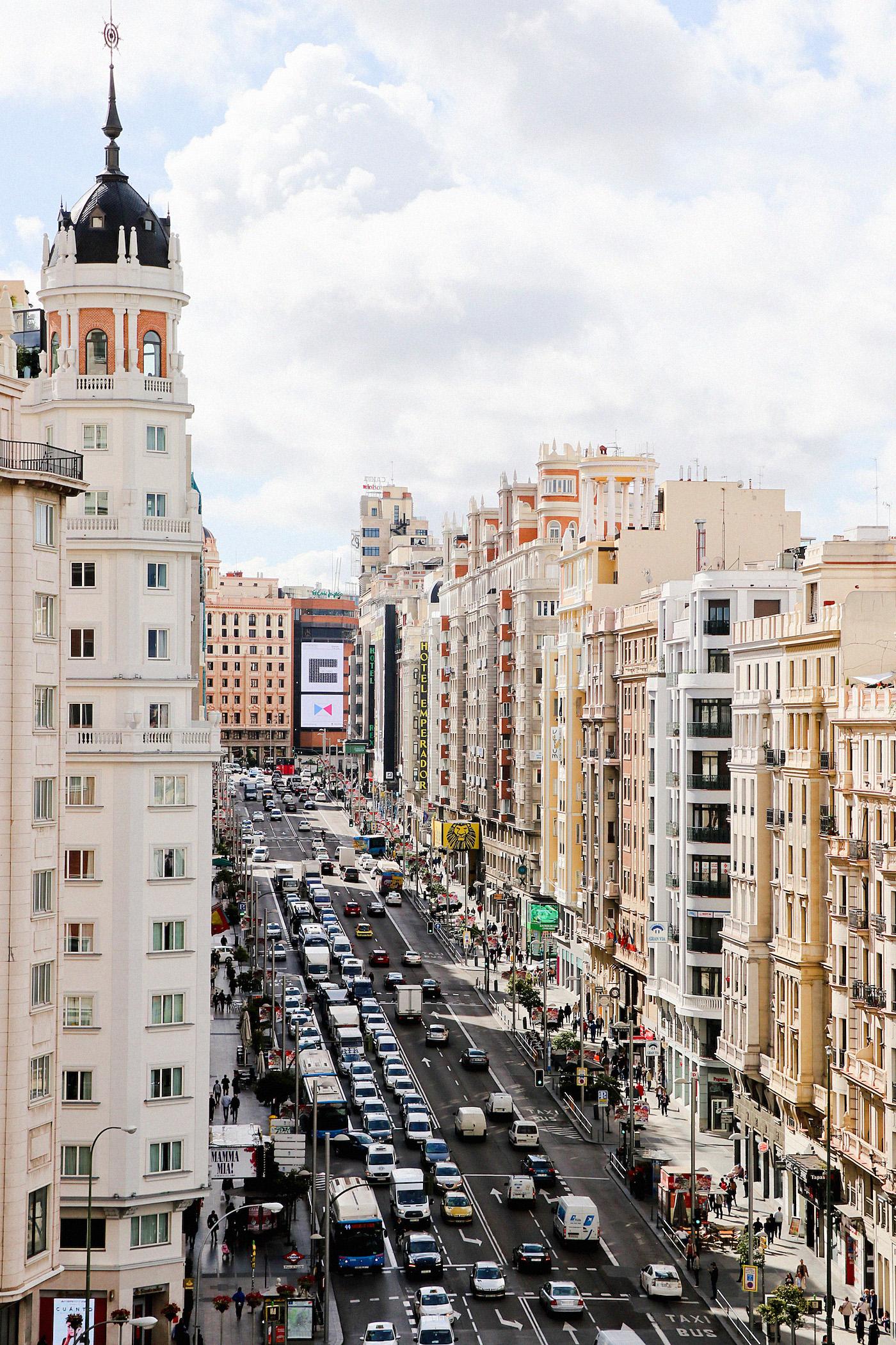 www.thegoldenbun.com |madrid barcelo torre de madrid, madrid sightseeing, four days in madrid