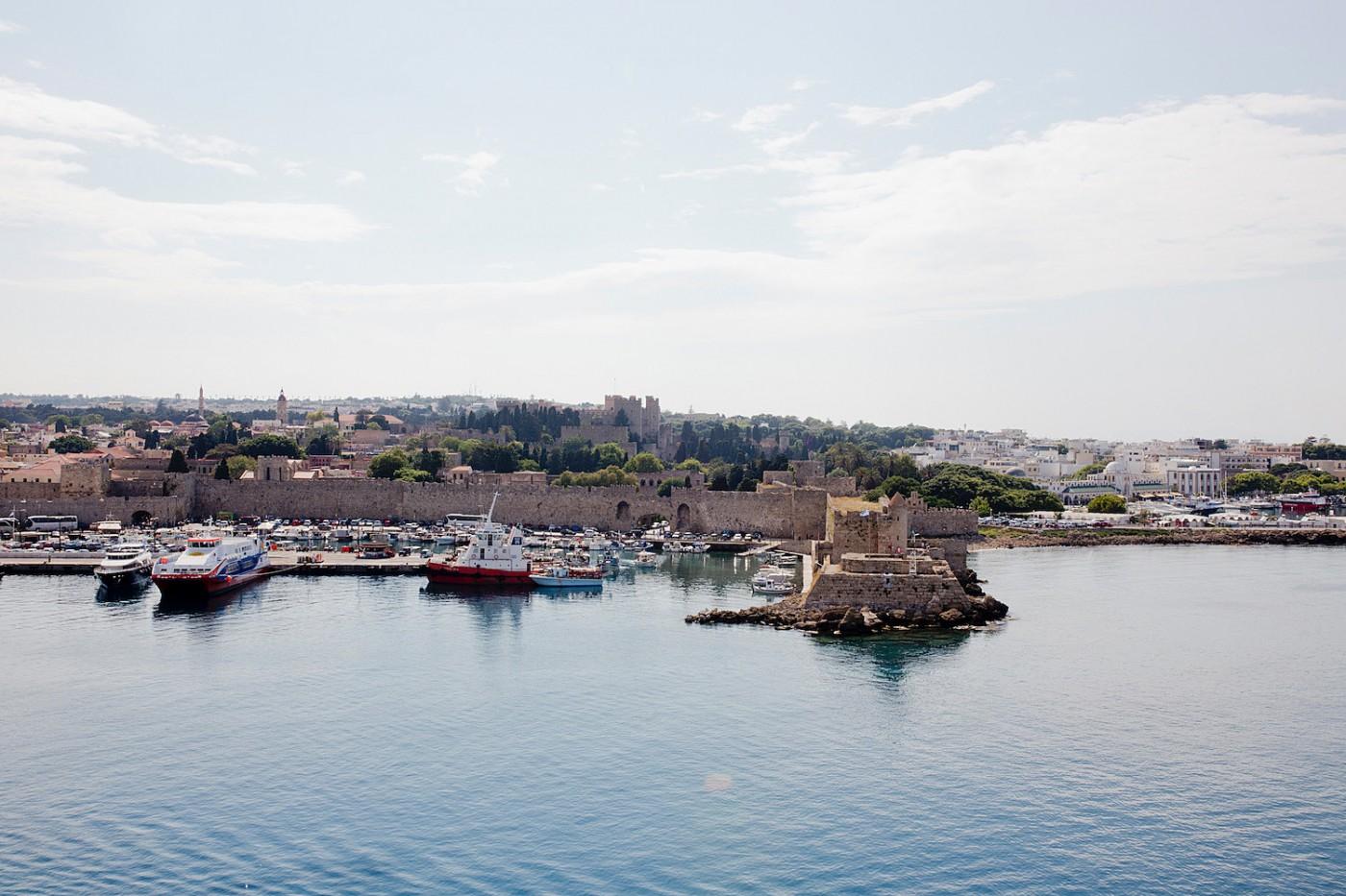 Rhodos Hafen, sehenswürdigkeiten Rhodos beach guide Rhodes