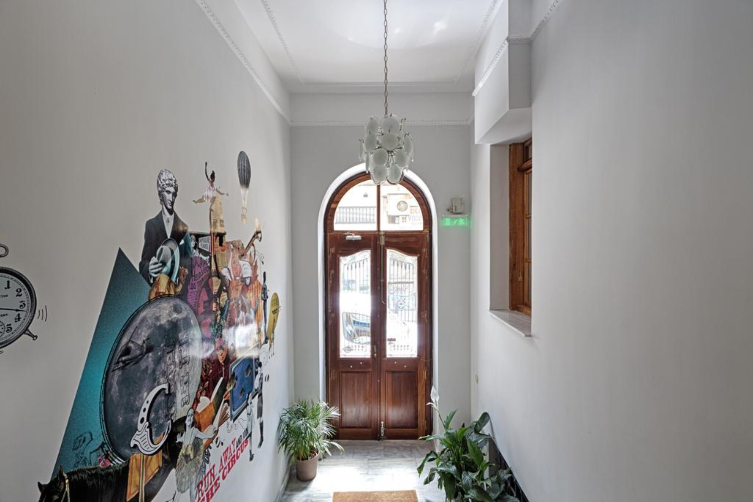 Hip and beautiful hotel in Athens – City Circus Hostel
