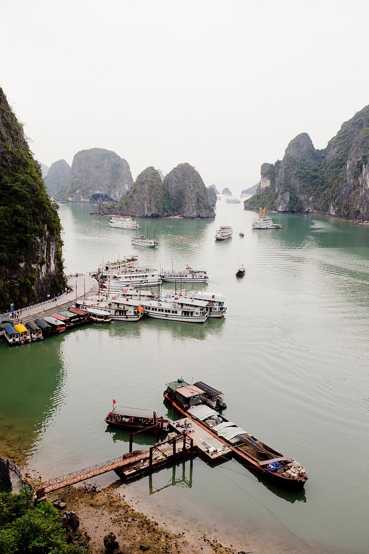 www.thegoldenbun.com |Vietnam Rundreise Ha Long Bay - Vietnam round trip