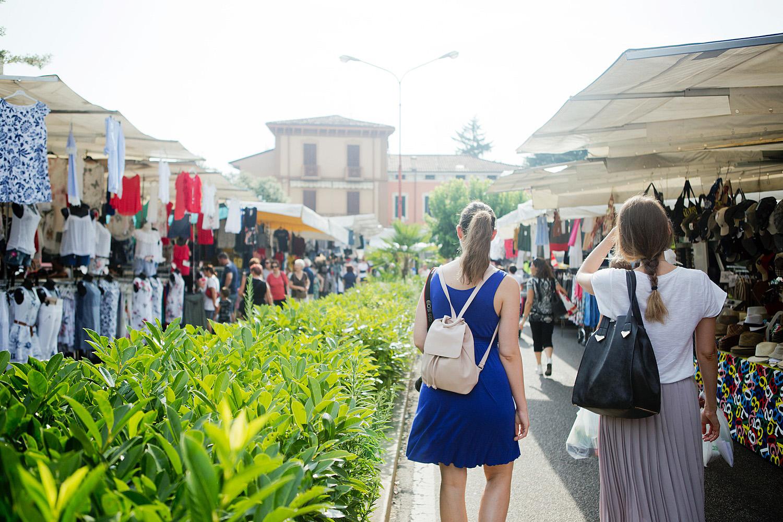 Sommer am Gardasee, Summer at Lago di Garda, Gardasee Tipps, Wochenmarkt in Bussolengo