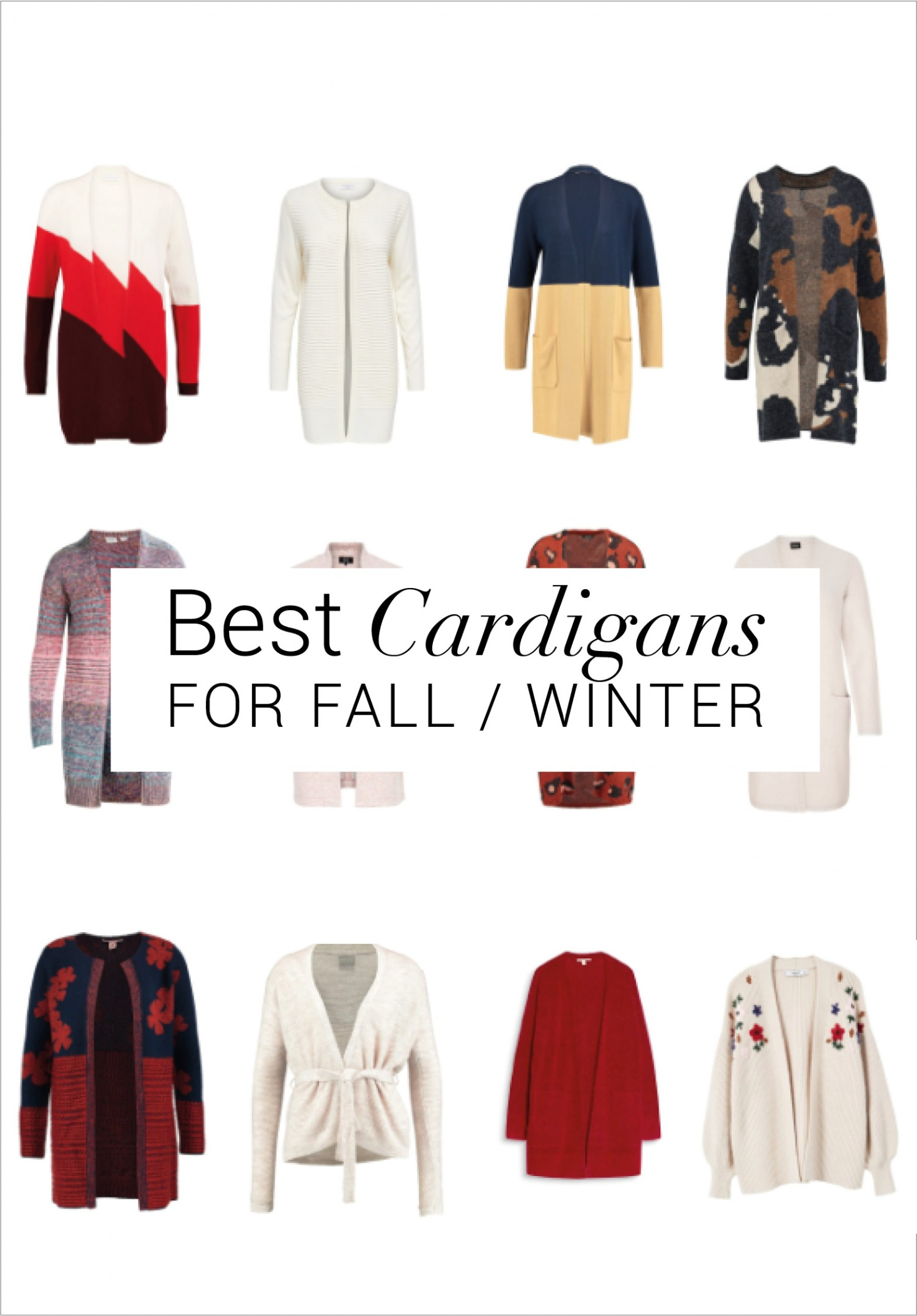 The best cardigans fall winter | cozy cardigans for the cold weather