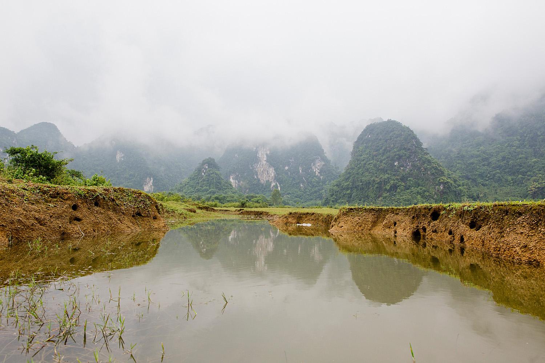 Yen Phu Lake Phong Nha-Kẻ Bàng National Park | 2 Wochen Vietnam Rundreise Phong Nha-Kẻ Bàng National Park - Vietnam round trip