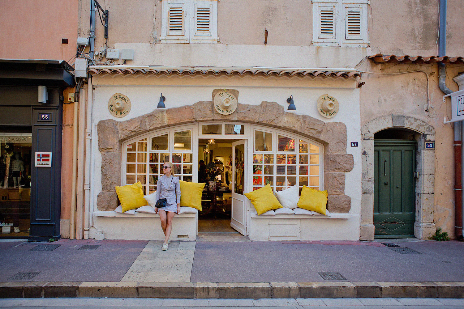 Cote d'azur in september_st-tropez