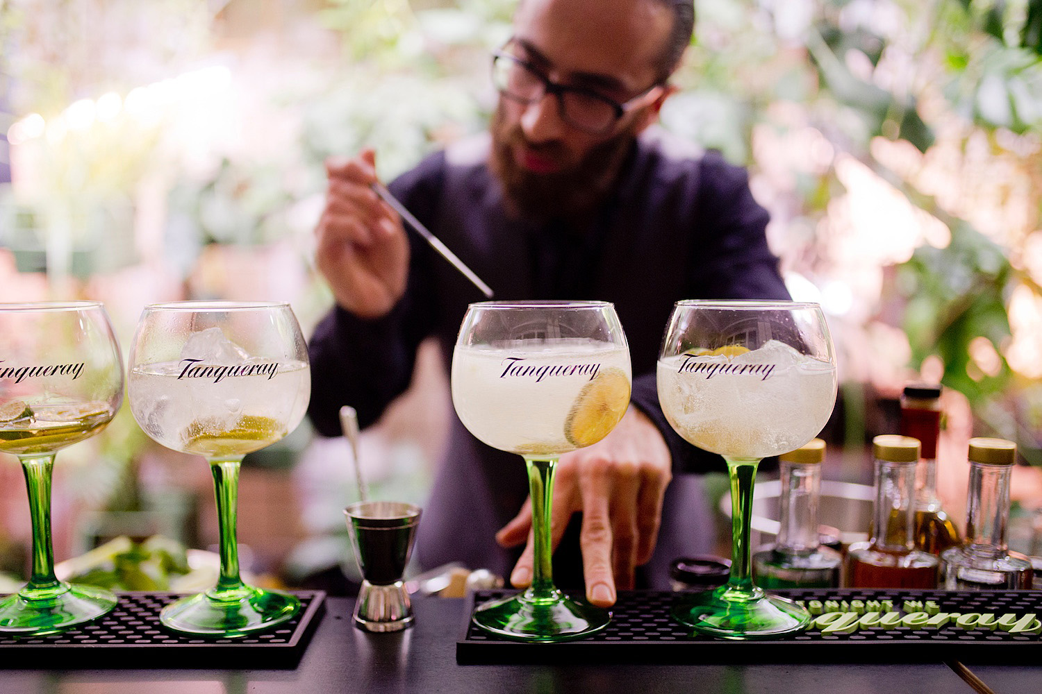 Tanqueray Gin _ London Dry Gin _ salt & silver _ Infarm Indoor Urban Farming