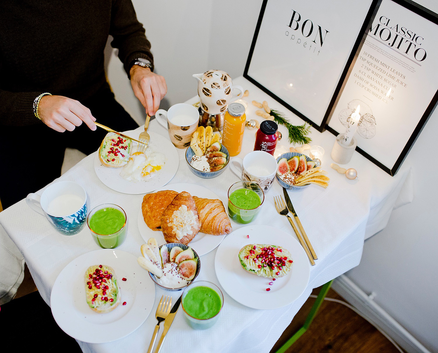 Cozy Advent Sunday brunch & little sneak peek into our kitchen