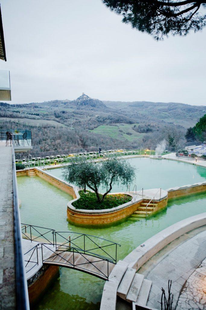 Albergo Posta Marcucci Bagno Vignoni thermal bath Tuscany travel ...