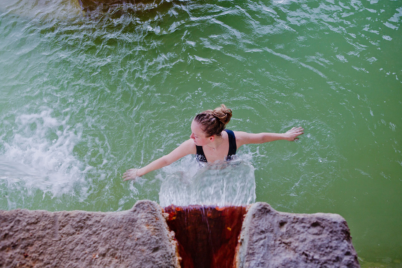 Albergo Bagno Vignoni Posta Marcucci Hot springs in Tuscany travel trips