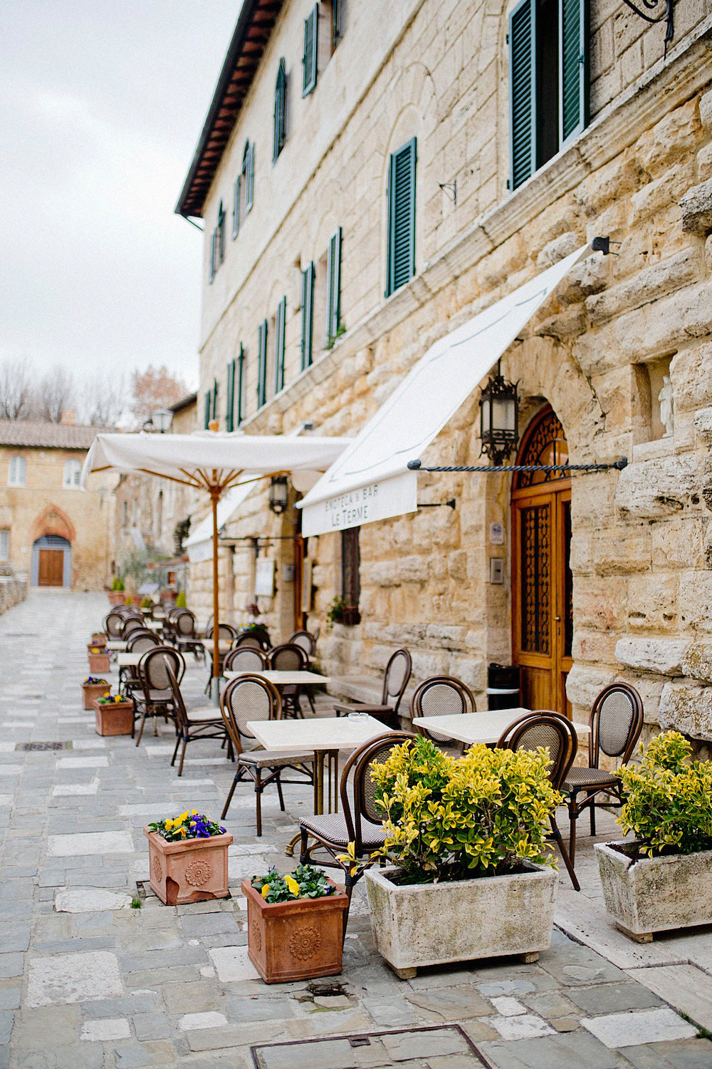 bagno vignoni tuscany cute villages to visit val d'orcia