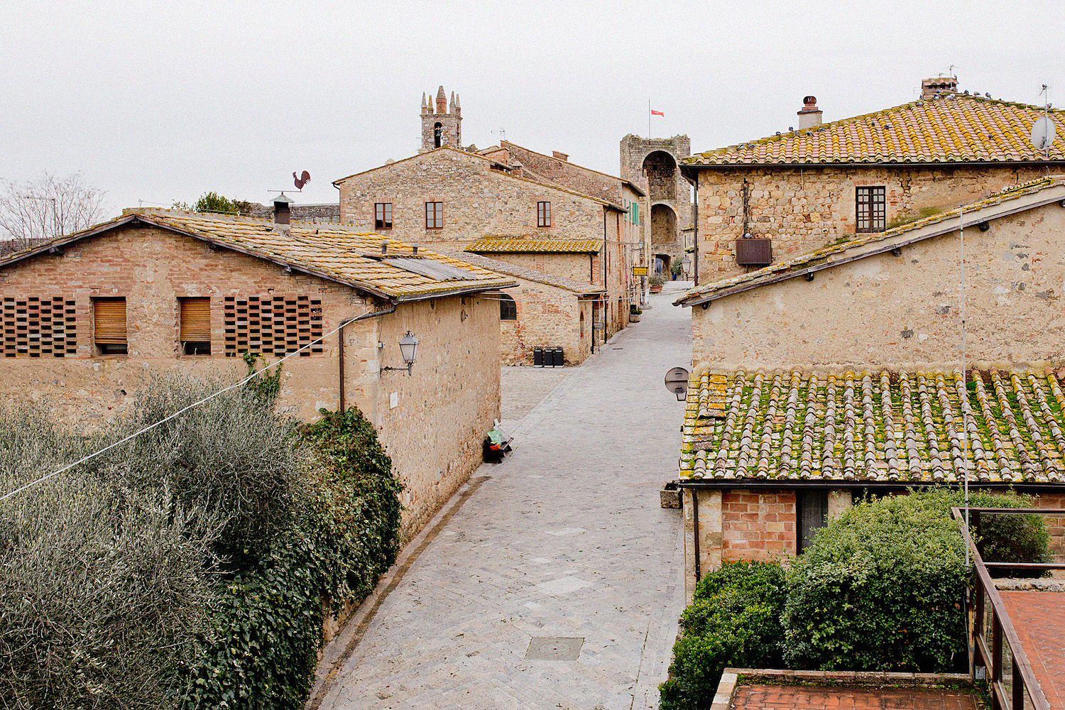 monteriggiano tuscany cute villages to visit val d'orcia